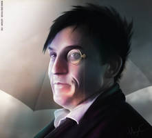 Oswald Cobblepot with monocle by MayaCobblepot