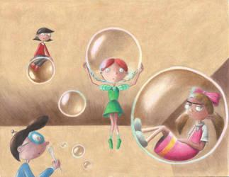 Hey Arnold - Bubbles by TecuciztecatlOcelotl