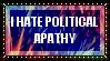Political Apathy Stamp by TecuciztecatlOcelotl