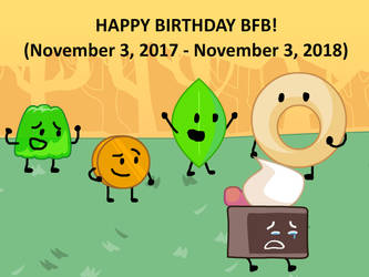 Happy Birthday, Battle for BFDI! by SunnySquirrel