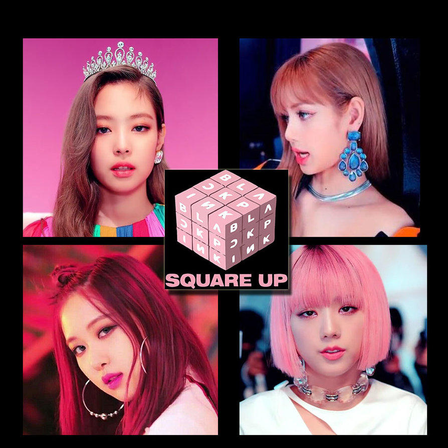 Blackpink Square Up Album Cover By Koreanalbumlee On Deviantart