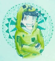 4/6 So green. by BobaChoco