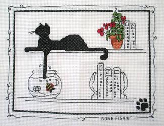 Le Chat Noir: Gone Fishin' by cloudrat
