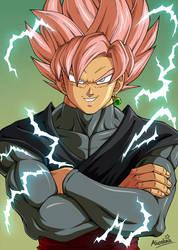 Goku Black [color] by Alienlina