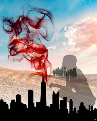 City Smoke Break Daydream by X