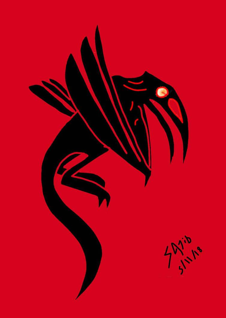 The black bird by Sajid16
