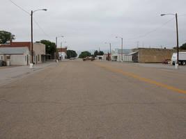 Grainfield Kansas downtown by DocMallard
