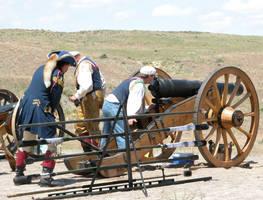 Cannon Shoot 1 by DocMallard