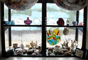Decorated window. by DocMallard
