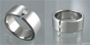 Mock Tension Titanium Ring by Spexton