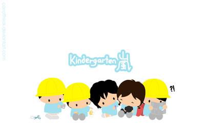 Kindergarten Arashi by CarrotFreak