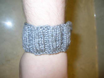 _knitting_ Test Cuff 1 by RouJoumis