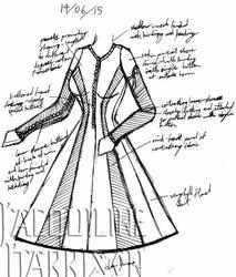 A Dress A Day 14 June 15 by AshenArtifice