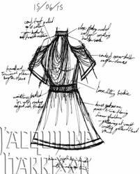 A Dress A Day 15 June 15 by AshenArtifice