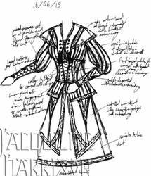A Dress A Day 16 June 15 by AshenArtifice