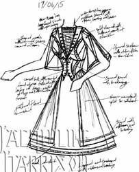 A Dress A Day 17 June 15 by AshenArtifice