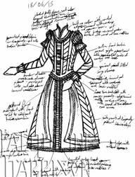 A Dress A Day 18 June 15 by AshenArtifice