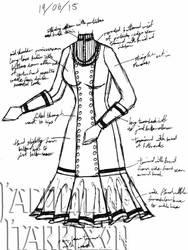 A Dress A Day 19 June 15 by AshenArtifice