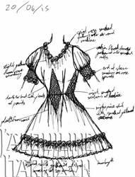 A Dress A Day 20 June 15 by AshenArtifice