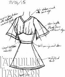 A Dress A Day 21 June 15 by AshenArtifice