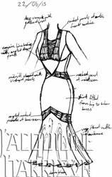 A Dress A Day 22 June 15 by AshenArtifice