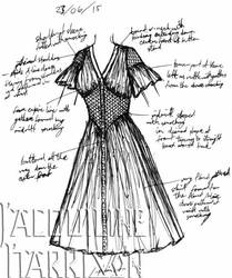A Dress A Day 23 June 15 by AshenArtifice