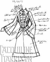 A Dress A Day 24 June 15 by AshenArtifice
