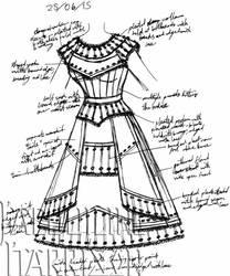 A Dress A Day 25 June 15 by AshenArtifice