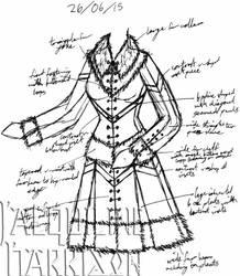 A Dress A Day 26 June 15 by AshenArtifice