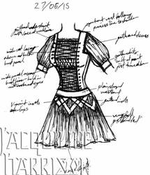A Dress A Day 27 June 15 by AshenArtifice
