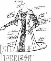 A Dress A Day 28 June 15 by AshenArtifice