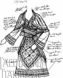 A Dress A Day 29 June 15 by AshenArtifice