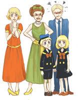 Duck Family by Sildesalaten