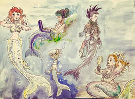 Mermaids by Sildesalaten