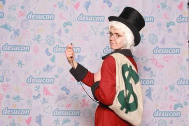Scrooge McDuck cosplay again by Sildesalaten