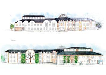 School - facades by Sildesalaten