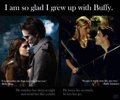 Twilight vs Buffy by triskaidekaphi