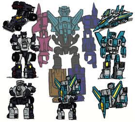 Transformers UW Leozack/Jallguar proposal by kyletak
