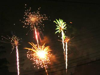 Fireworks by carangil