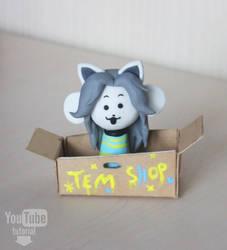 Undertale - Temmie   Video Tutorial by DewberryART