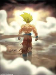 Legendary Saiyan by khayeceee