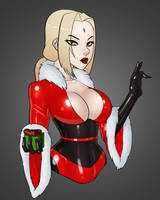 Santa Tsunade by danteshadow1
