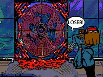 Eternal Champions: Blade likes Beck by MIZTER-ROOTBEER