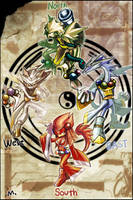 Gods of the Four Side by E09ETM