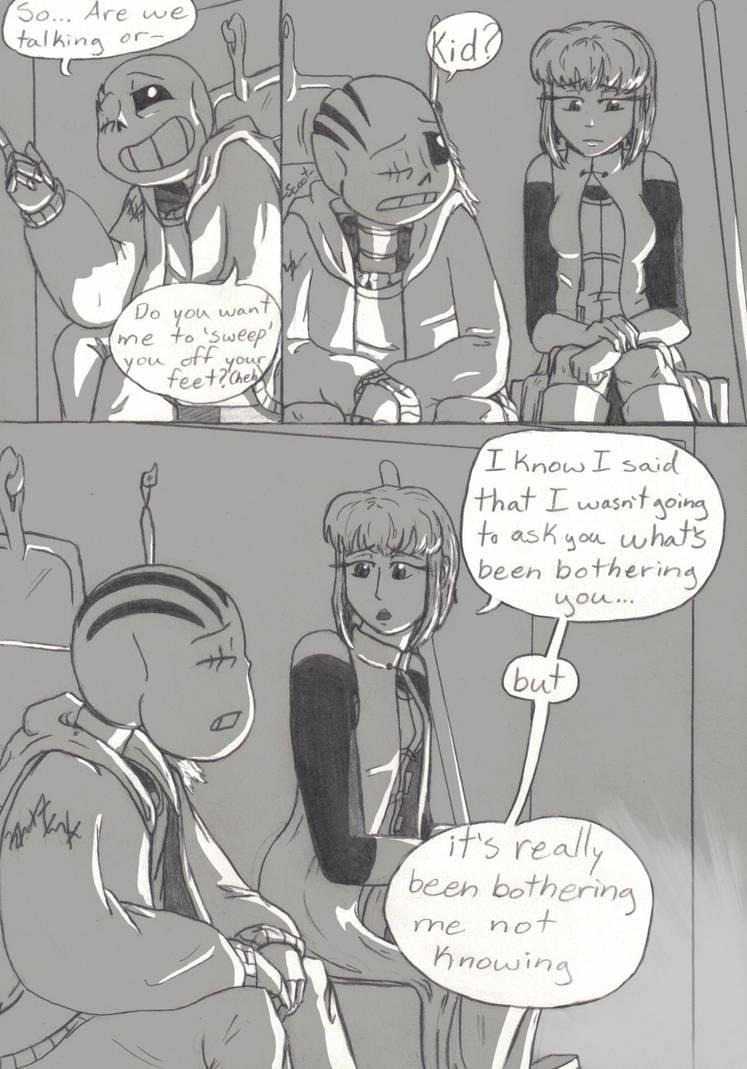 Baby Bones (Post-tale side comic) PG 48 by TrueWinterSpring