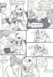Battle Boutique (Post-tale Part 2) Pg 52 by TrueWinterSpring
