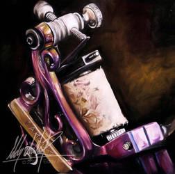 Tattoo machine by eddy-avila-r