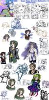 DCM-Super Sketch Collective2- digi only by 7AirGoddess3