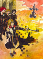 Kingdom Hearts - Trinity (PART 1 - Twilight) by 7AirGoddess3