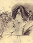 Happy Valentines~ Demyth + Valkyria by 7AirGoddess3